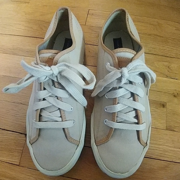 4aae67bed Men s Tommy Hilfiger Canvas   Leather Trim Sneaker.  M 5a858e3e36b9dee1ced86916